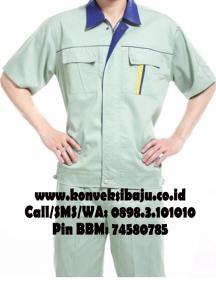 baju seragam pabrik
